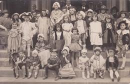 [34] Hérault > Lamalou Les Bains Carte Photo Carnaval Enfants Déguises  Faite Devant Le Casino - Lamalou Les Bains