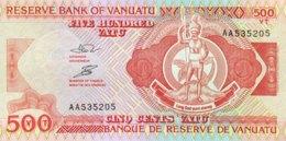 Vanuatu 500 Vatu, P-5a (1993) - UNC - Signature 3 - Vanuatu