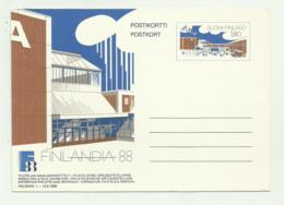 FINLANDIA '88 - WORLD PHILATELIC EXHIBITION HELSINKI 12/6/1988 FG - Finland