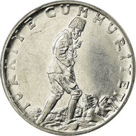 Monnaie, Turquie, 2-1/2 Lira, 1978, TB+, Stainless Steel, KM:893.2 - Turquie