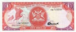 Tininidad & Tobago 1 Dollar, P-36c (1985) - UNC - Trinidad & Tobago