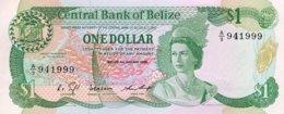 Belize 1 Dollar, P-46b (1.1.1986) - UNC - Belize