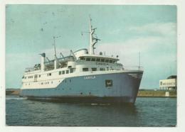 LB - FARJAN M/S CAROLA - HALSINNGBORG-HELSINGOR 1968 VIAGGIATA  FG - Ferries