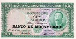 Mocambique 100 Escudos, P-117 (1976) - UNC - Mozambique
