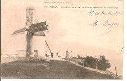 L120B_120 - Royan - 495 Les Moulins à Vent De Meschers (Rochers De L'Hermitage) - Carte Précurseur - Royan