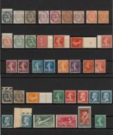 France 1900/1924 - Timbres Neufs Sans Charnière COTE 638 € - TB - France