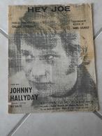 Hey Joe! (Johnny Hallyday)-(Paroles Gilles Thibaut) (Musique Reg Guest)- Partition 1967 - Musique & Instruments
