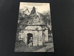 PLESTIN LES GREVES La Fontaine De Saint Efflam Où Se Rendent Les Jeunes Filles Désirant Se Marier Dans L'année - Plestin-les-Greves