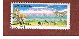 KYRGYZSTAN   - SG 99   -  1995 NATURAL WONDERS OF THE WORLD: MOUNT KILIMANJARO    -   USED - Kirghizstan