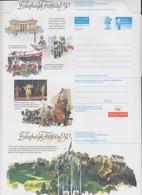 GREAT BRITAIN  - AEROGRAMME NEW - EDINBURGH FESTIVAL 50 / 3 - Postwaardestukken