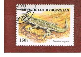 KYRGYZSTAN   - SG 111   -  1996  REPTILES: EREMIAS ARGUTA   -   USED - Kirghizstan