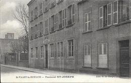 St Vaast La Hougue  - Pensionnat St Joseph   - Tres Belle Carte    -  Circulé - Saint Vaast La Hougue