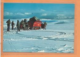 CPM - A VATNAJOKLI - Cruising On Glacier Vatnajokull - Auf Dem Gletscher - Engin A Chenille GUSI - - IJsland