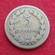 El Salvador 5 Centavos 1950 KM# 134a - El Salvador