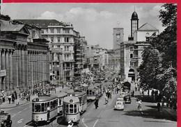 CARTOLINA VG GERMANIA - STUTTGART - Konigstrasse - 10 X 15 - ANN. 1956 - Stuttgart