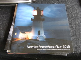 ~~~ Norway Norvege Noorwegen 2015 - Official Year Book Booklets Carnets -  ** MNH  ~~~ - Années Complètes