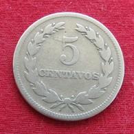 El Salvador 5 Centavos 1948 KM# 134a - El Salvador