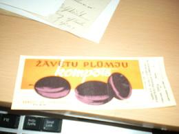 Zavetu Plumju Kompots Latvia - Obst Und Gemüse