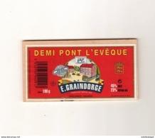 Demi Pont L'eveque  E.Graindorge - Quesos
