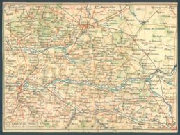 Militaria Correspondance Des Armées Carte Double Du Front Plateau De Craonne - Militaria