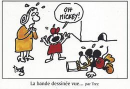 FESTICART-ENGHIEN-ILLUSTRATION-ALAIN TREZ-BD-BANDE DESSINEE VUE PAR-MICKEY-SOURIS- - Trez