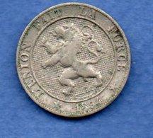 Belgique  -  5 Centimes 1894  -  Km # 40.1  - état  TTB - 03. 5 Céntimos