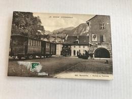 Bonneville Arrivée Du Tramway De 1912 - Bonneville