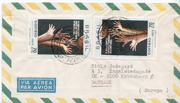 Postal History Cover: Brazil Stamp On Cover - Basketball