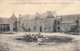 Reville - Manoir Du Houguet  -   Non Circulé - Andere Gemeenten
