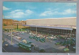 IT. ROMA. ROME. Stazione Termini. Gare Termini. Station. Bahnhof. Old Cars. Taxi. Tram. VW Bus. - Stazione Termini