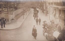 [34] Hérault > Lamalou Les Bains Carte Photo Obsèques Militaires Avenue Charcot Hôtel Du Nord RARE RECHERCHE N° 1 - Lamalou Les Bains