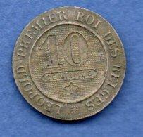 Belgique  -  10 Centimes 1861 -  Fausse - 1865-1909: Leopold II