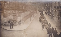 [34] Hérault > Lamalou Les Bains Carte Photo Obsèques Militaires Avenue Charcot Hôtel Du Nord RARE RECHERCHE N° 2 - Lamalou Les Bains