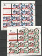 10x MALTA - MNH - Europa-CEPT - Art - Cultures - 1982 - Folded Sheets - Europa-CEPT