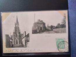CPA. (60) ST JUST .Nouvelle église .Rue Carnot.               (G.040) - Saint Just En Chaussee