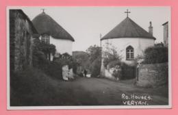 Foto Cartolina - Ro. Houses. Veryan (Inghilterra) - Inghilterra