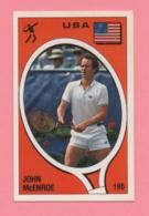 Figurina Supersport 1988 - Tennis, John McEnroe 195 - Calcio, Massimo Mauro (II) - Trading Cards