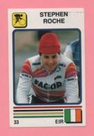 Figurina Supersport 1988 N° 33 - Ciclismo, Stephen Roche - Ciclismo