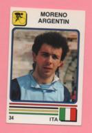 Figurina Supersport 1988 N° 34 E 10 - Ciclismo, Moreno Argentin - Calcio, Eligio Nicolini - Ciclismo