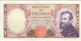 10000 LIRE MICHELANGELO 03 07 1962 Bello Spl LOTTO 1758 - [ 2] 1946-… : Républic