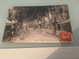Ancienne Carte Postale - Digne - France