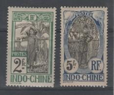 Indochine _cambogienne (1907) N°56 /57 - Indochina (1889-1945)