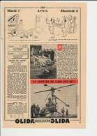 2scans Presse 1959 Bernadette Soubirous Camion Dépannage Scooter De L'air Rotorcycle Issy-les-Moulineaux Dick Peck226CH3 - Old Paper