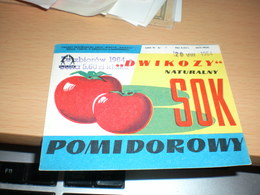 Dwikozy Naturalny Sok Pomidorowy - Fruit En Groenten