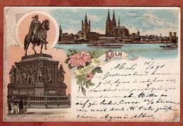 Koeln, Krone, Nach Hannover 1898 (73762) - Koeln