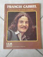 12 Chansons Dont Je L'Aime à Mourir (Francis Cabrel)-(Paroles & Musique Francis Cabrel)- Partition 1979 - Musique & Instruments