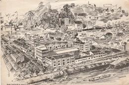 Ain : RIGNIEUX-LE-FRANC : Réunion La Mairie ( Traitement Et Désherbage Des Céréales - Pechiney-progil - Grand Format ) - France