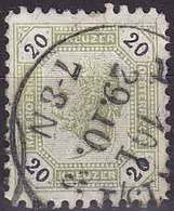 Autriche YT 61 Année 1891 - François-Joseph 1er (Used °) - Usados