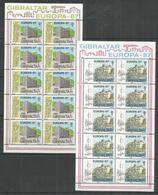 10x GIBRALTAR - MNH - Europa-CEPT - Architecture - 1987 - Europa-CEPT