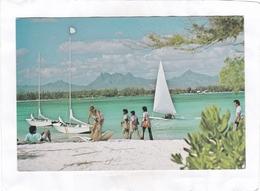 CPSM. 15 X 10,5 :  -  L'ILE  MAURICE  -  Club  Méditérranée - Mauritius